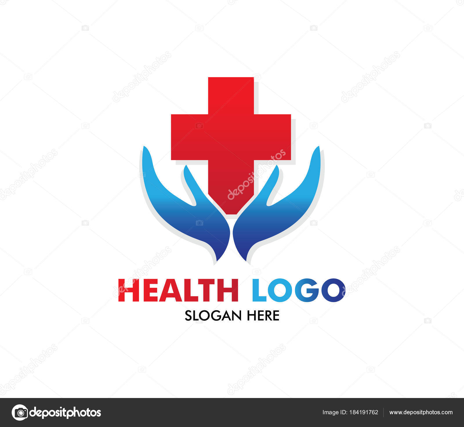 vector logo design for health care family healthy clinic doctor rh depositphotos com medical logo vector free download medical logo vector png