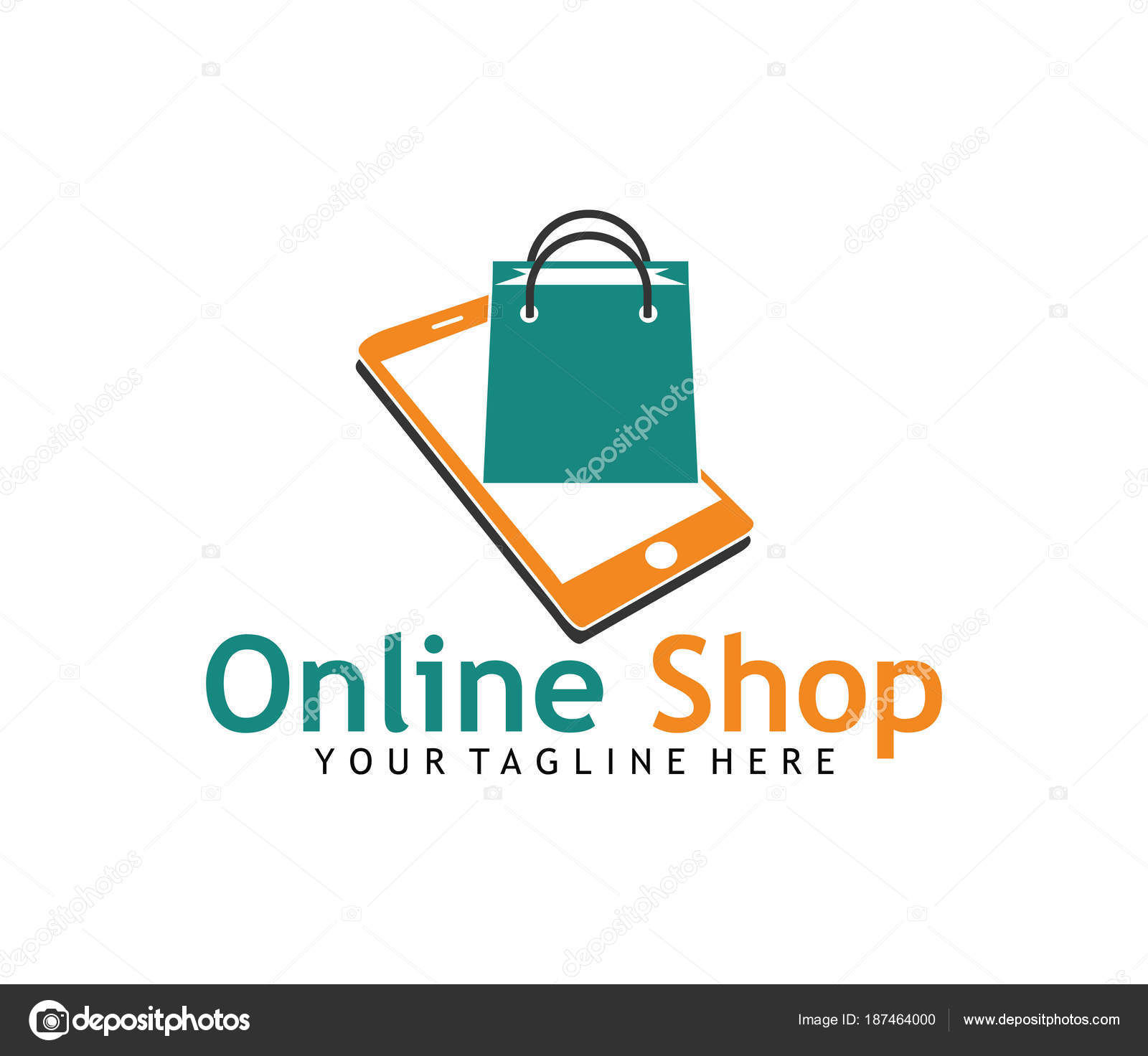 Boutique en ligne application ic ne panier vector logo for Design on line outlet