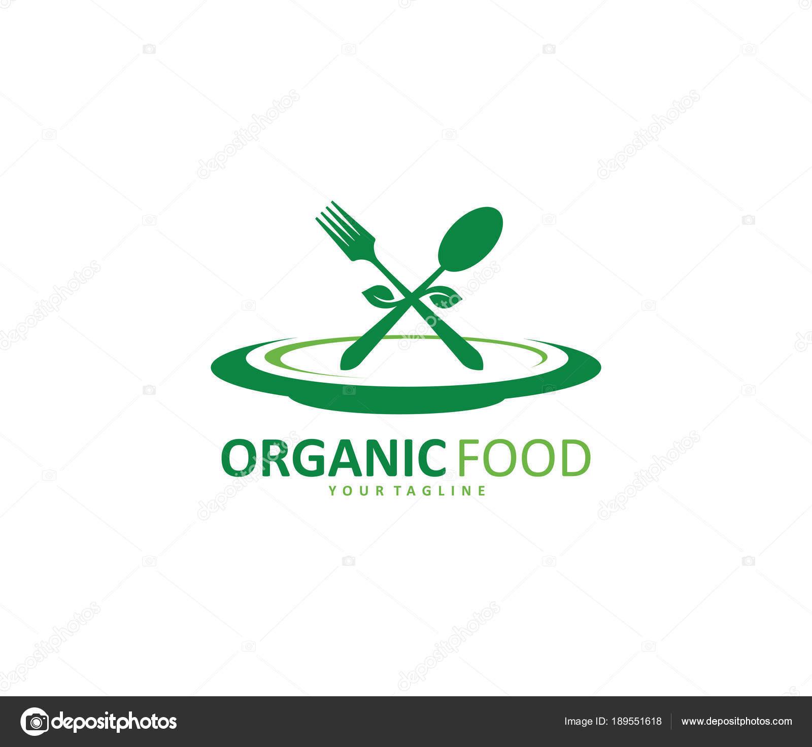 Green Healthy Food Diet Bistro Cafe Restaurant Vector Logo Design Stock Vector C Great19 189551618