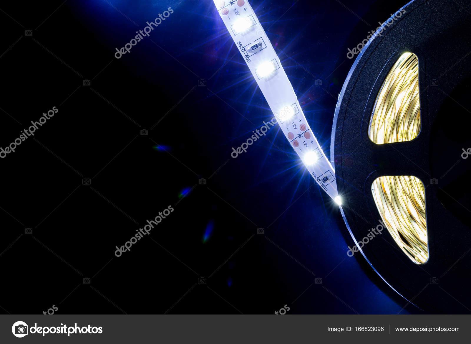 Led strip light stock photo studio306stock 166823096 diode strip led lights tape close up photo by studio306stock aloadofball Gallery