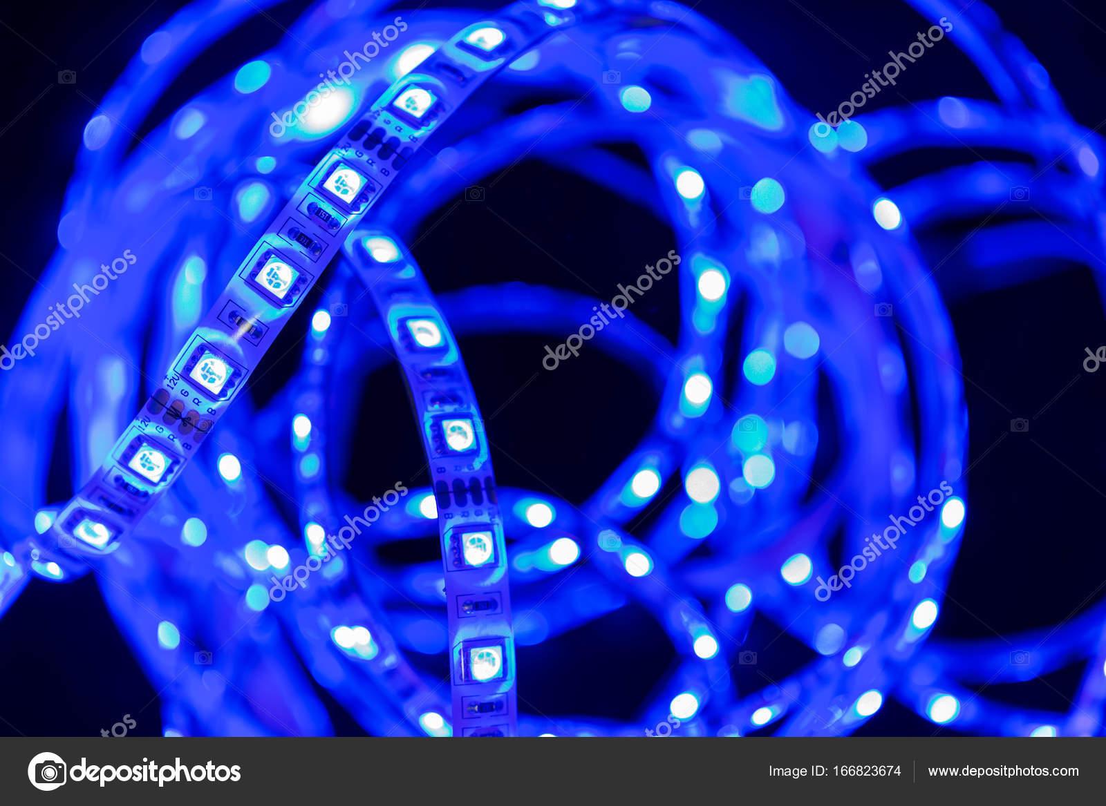 Led Strip Licht : Licht led streifen u stockfoto studio stock