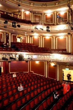 interior Apollo theatre, London