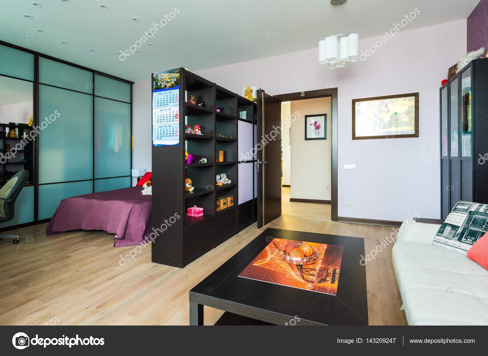 Interieur De Luxe Appartement het interieur van een luxe appartement in het centrum van