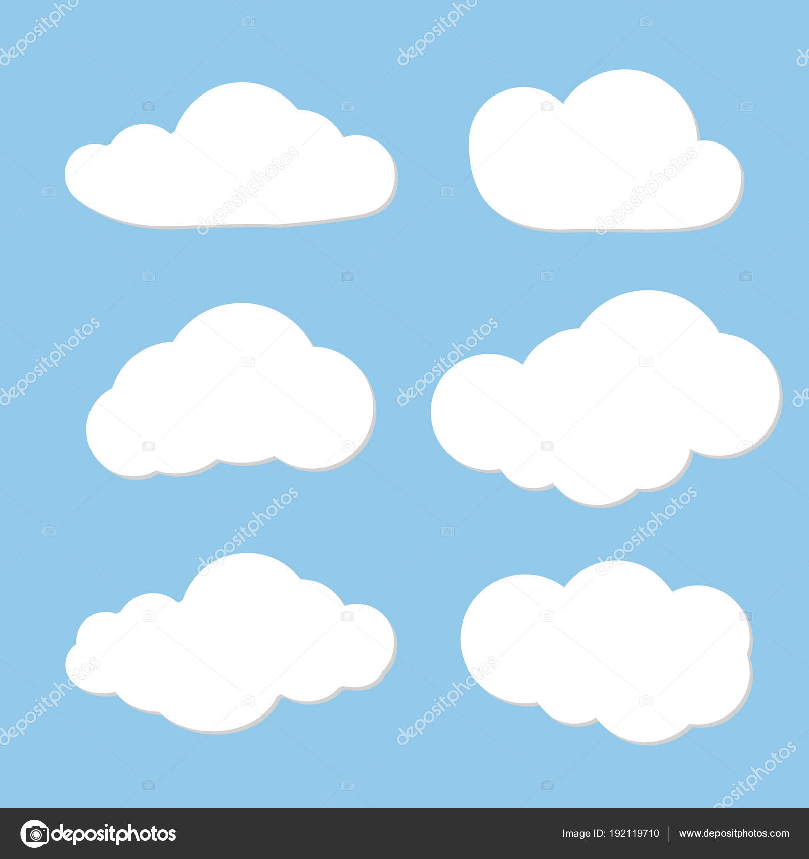 Cloud vector design  Can use as speech clouds for network  Cloud on