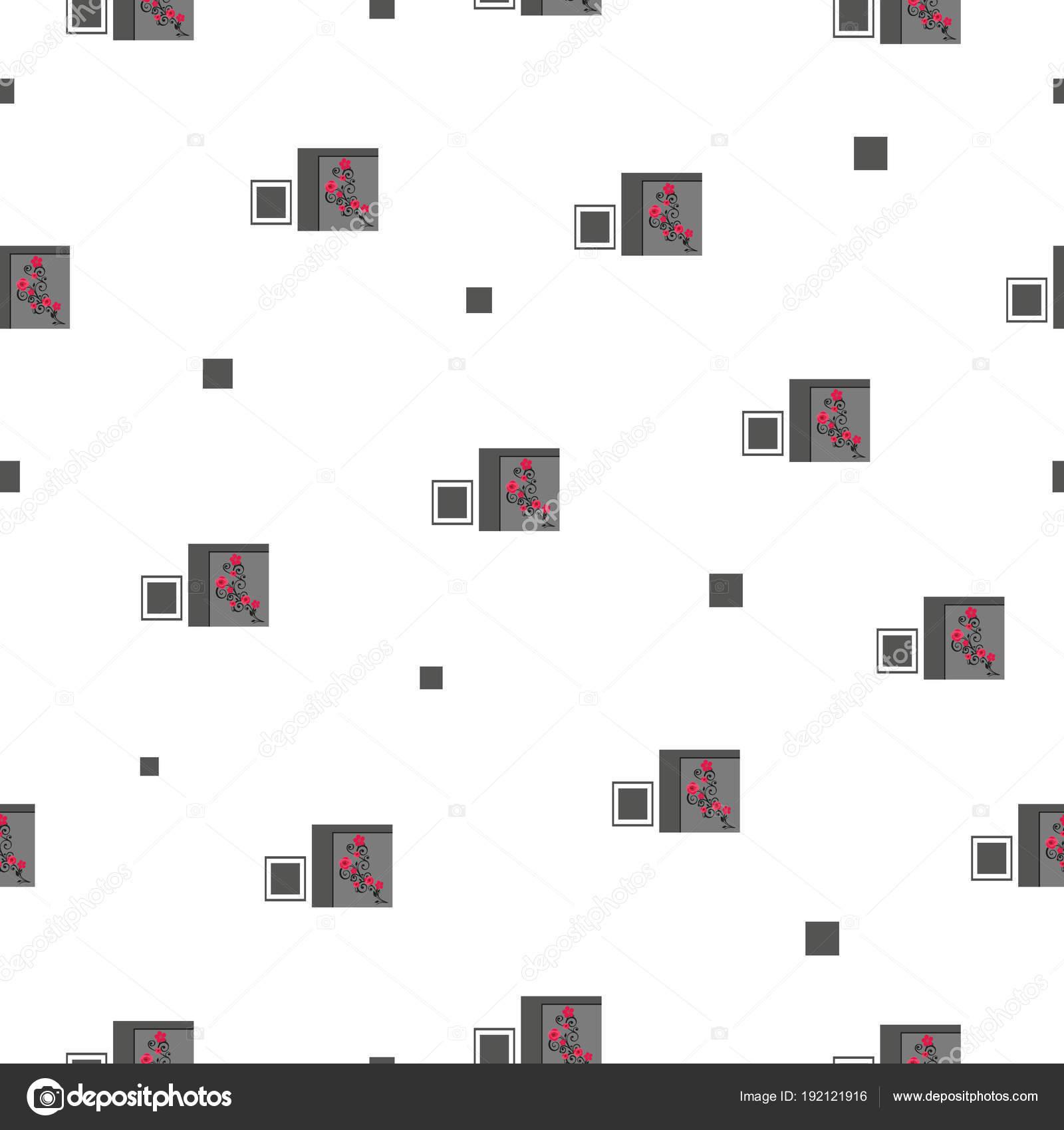 patrón floral patchwork sin costura con rosas rojas — Vector de ...