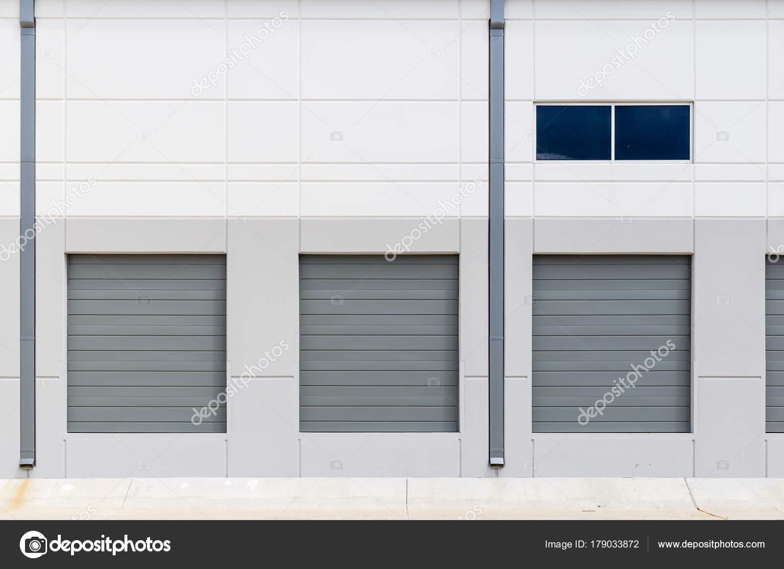 New Construction Warehouse Loading Dock Stock Photo Michelmond