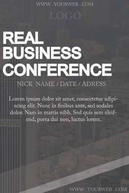 Business Conference flayer design