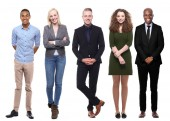 Fotografie Skupina 5 různých lidí