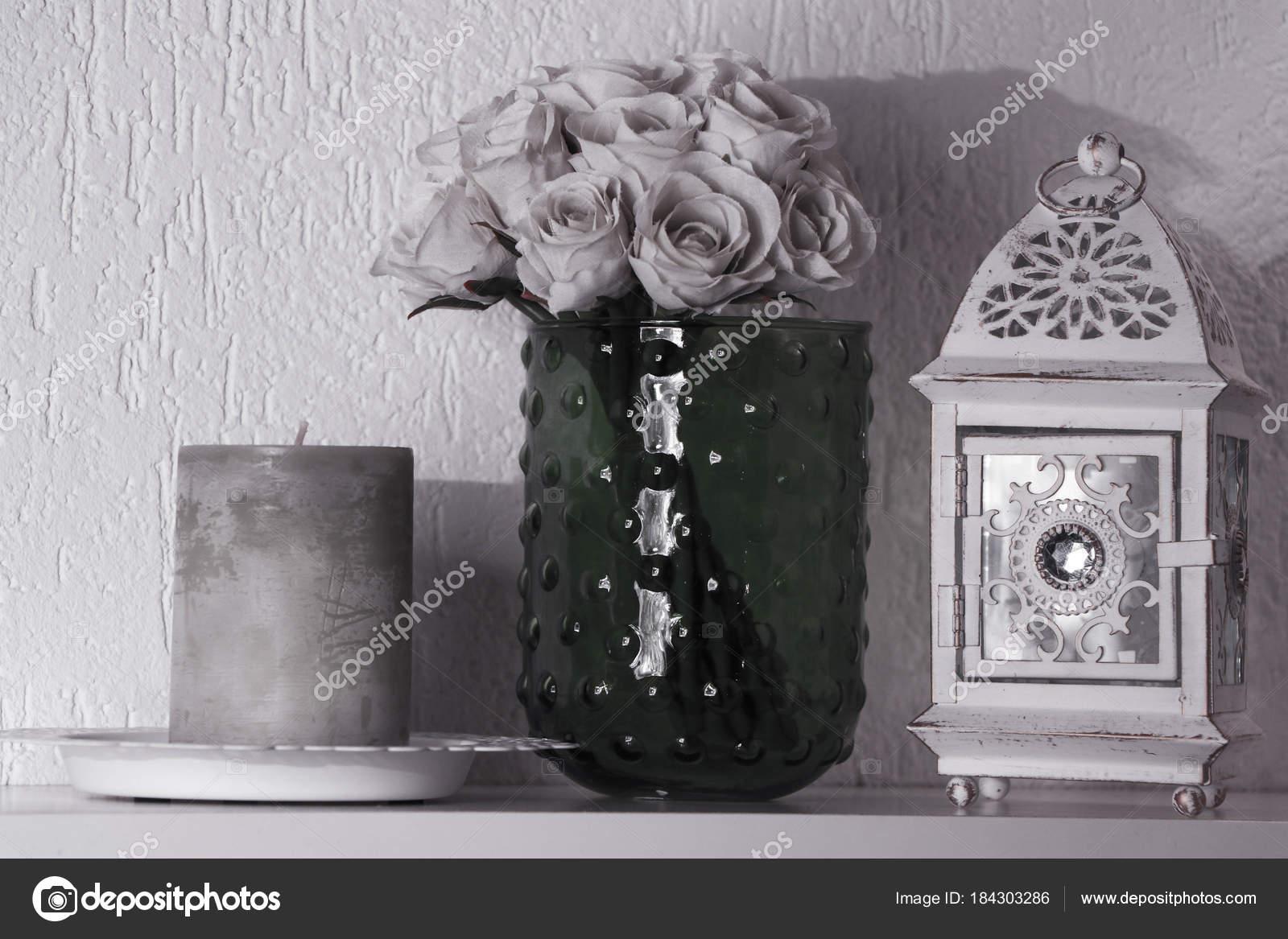 Dekorace Doma Cerne Bile Stock Fotografie C Samueljoerg 184303286