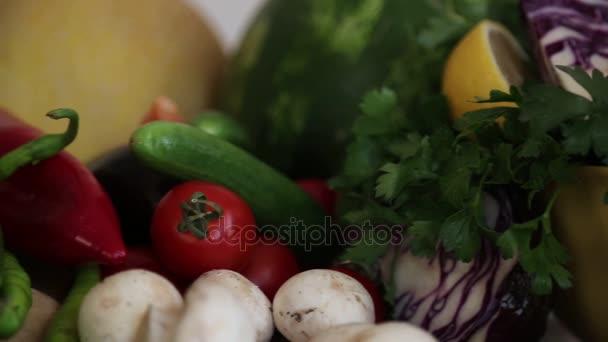 Čerstvá zelenina. Zdravé potraviny