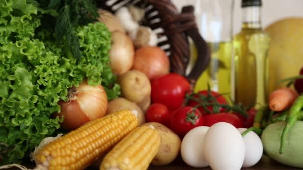 Čerstvá zelenina. Zdravé potraviny.