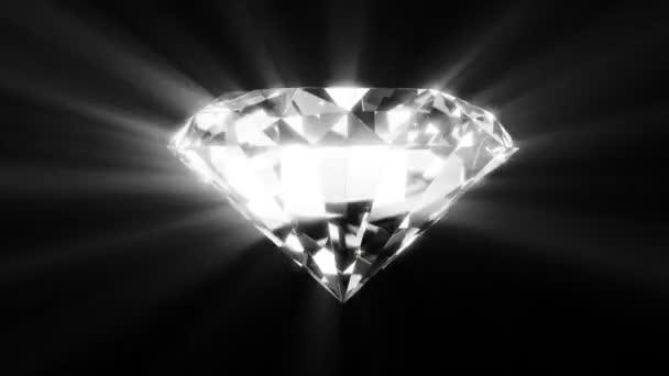 glänzende Diamant-Animation