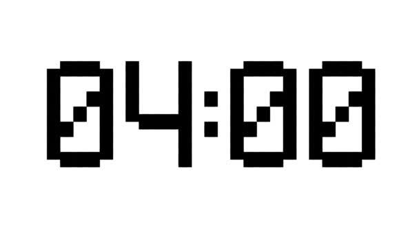 Digitální hodiny odpočítávání