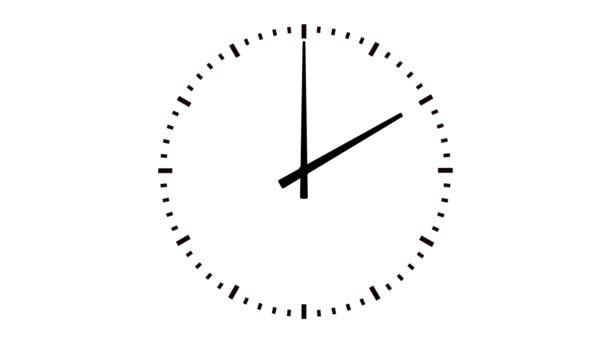 Analogové hodiny animace