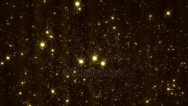 Zlaté částic animace