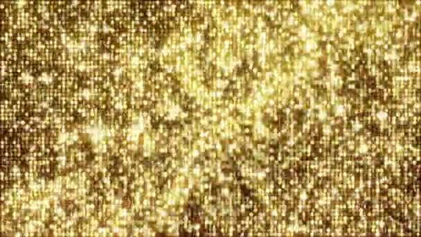 Zlaté lesklé animace