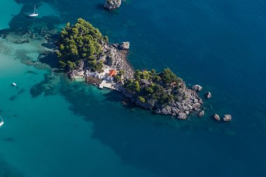 view of Greece coast line