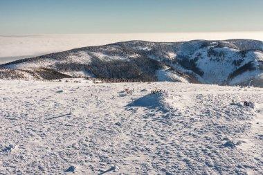 Snieznik mountain in Poland