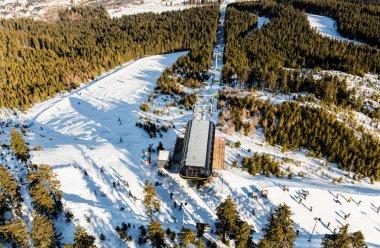 Czarna Gora mountain with ski lift