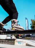 Fotografie Inline-Skates auf Aktion