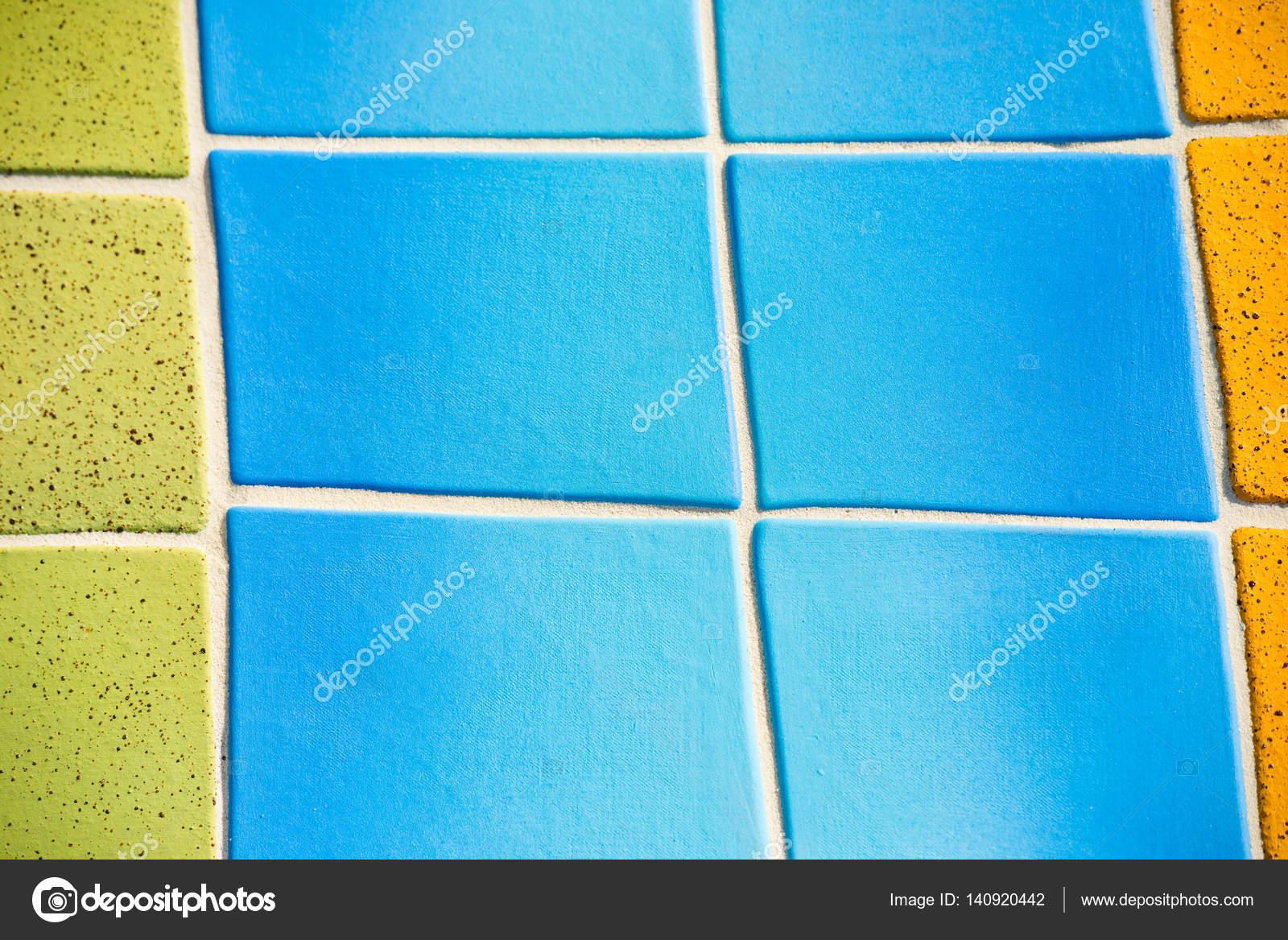 Decorazione di piastrelle colorate texture sfondo u2014 foto stock