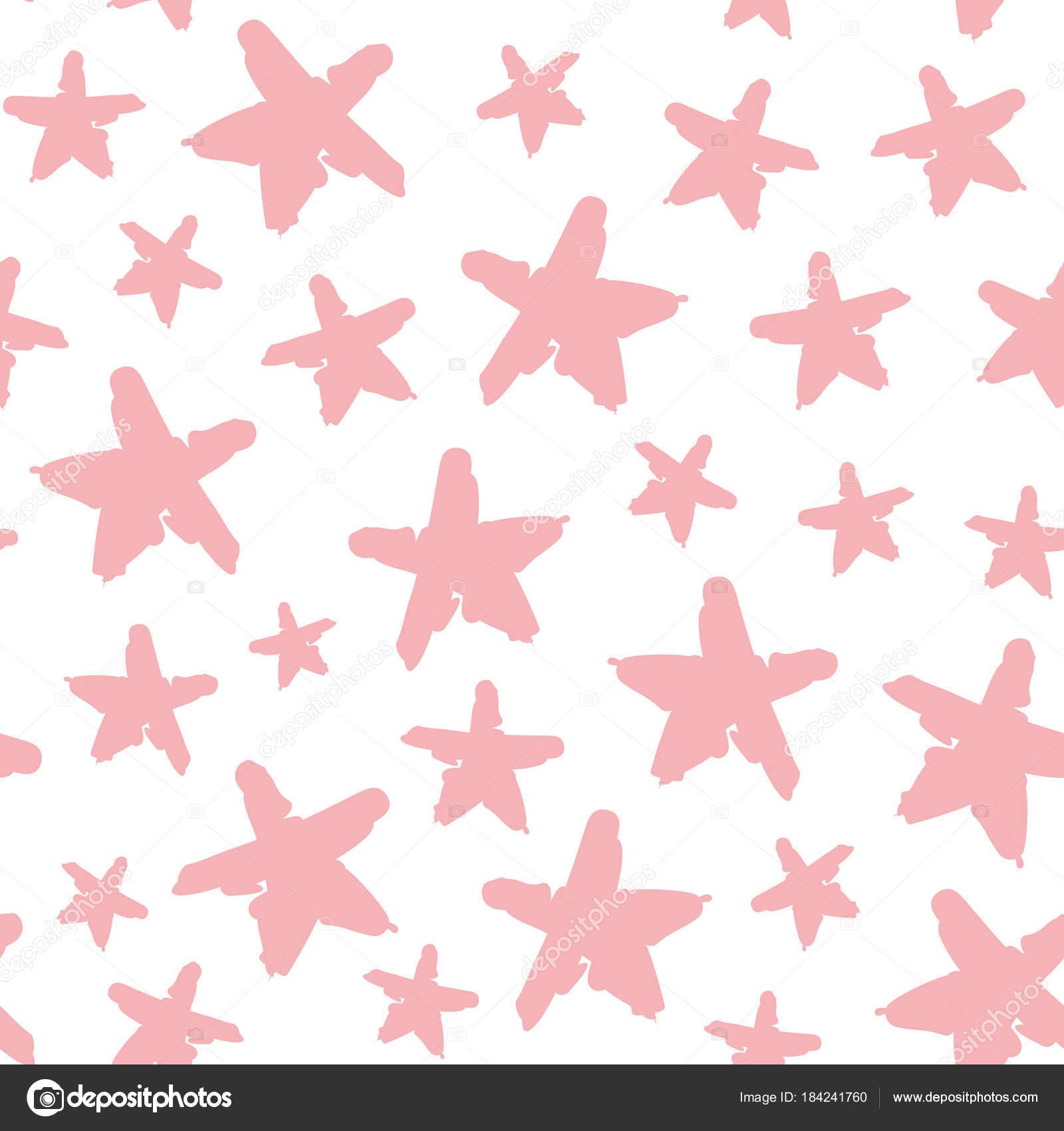 Estrellas Bonitas De Colores Luz Patrones Sin Fisuras Con