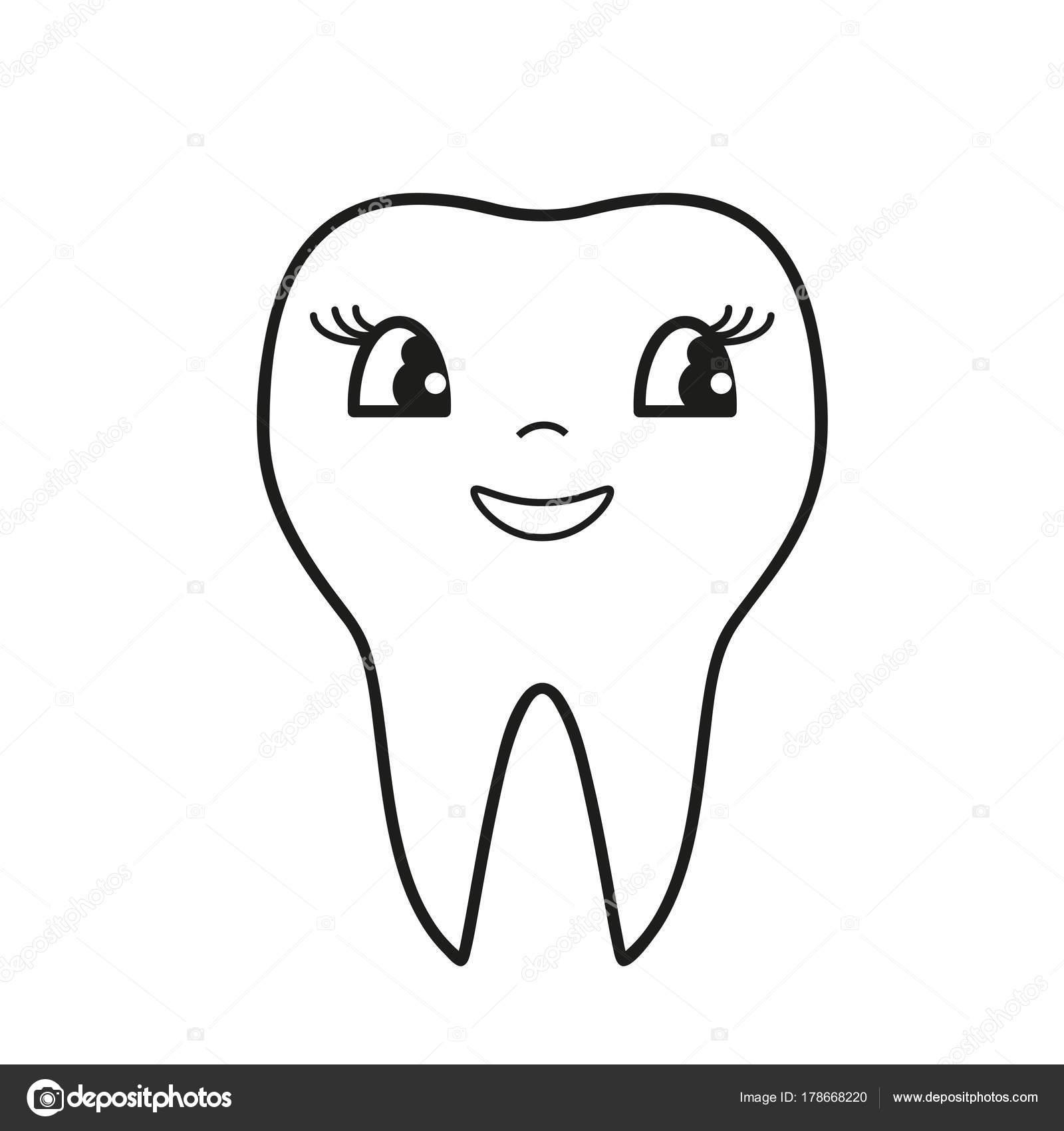 Icono de sonrisa de dientes — Vector de stock © Natalia_ashatan ...