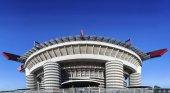 San Siro labdarúgó stadion - Milánóban, Lombardia, Olaszország