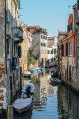 Barevné a relaxačních kanál Benátky, Veneto, Itálie.
