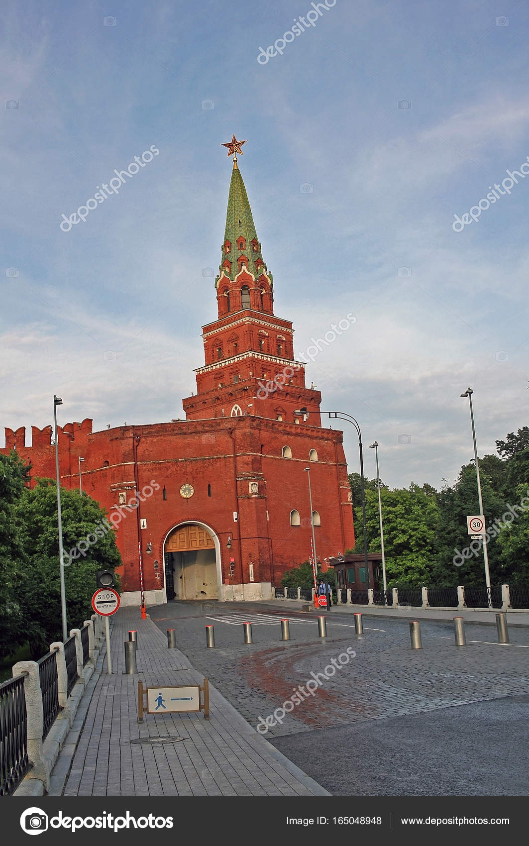 Borovitskaya tower: description and photo 8