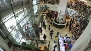 Unidentified people shop at Platinum Mall in Bangkok,Thailand