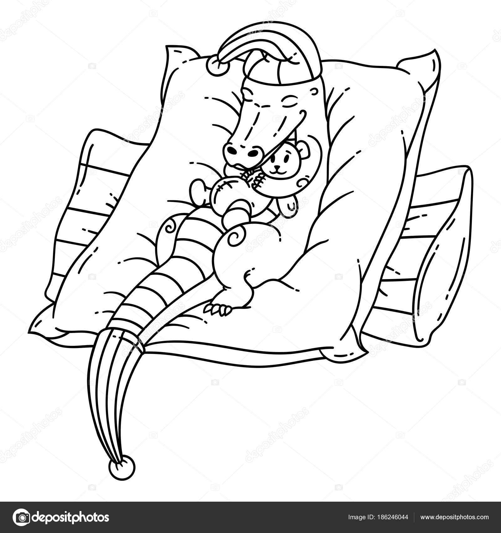 dormir cocodrilos — Archivo Imágenes Vectoriales © danamayfay #186246044