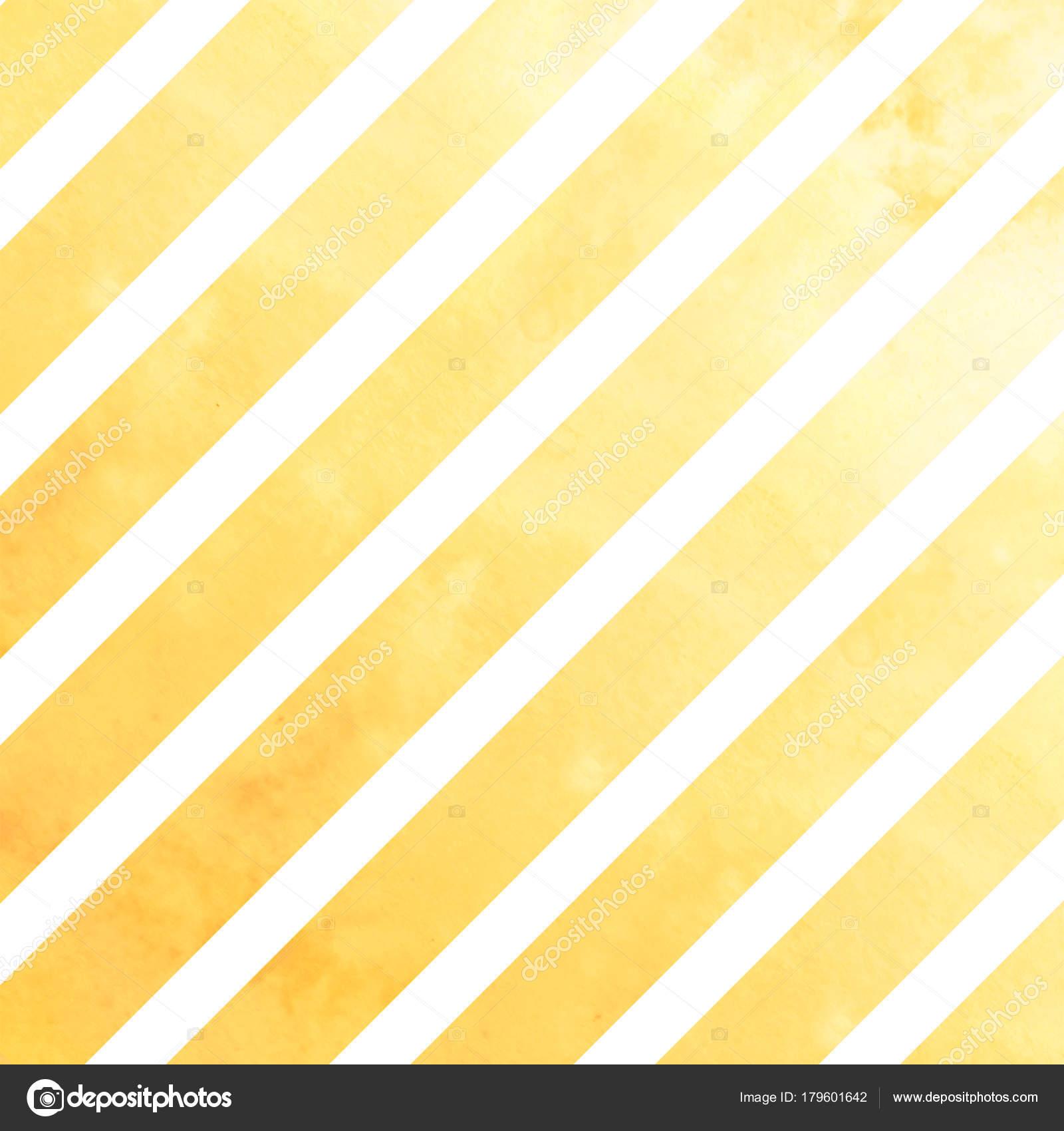 水彩ライト オレンジのストライプ 白い背景の上のライトのオレンジ色の線