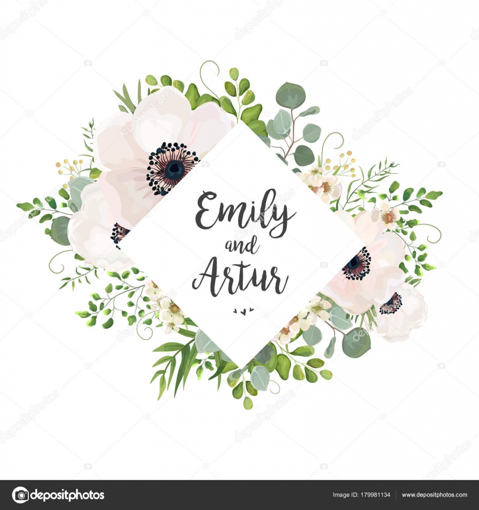 Vector floral wedding invite card design eucalyptus silver dollar vector floral wedding invite card design eucalyptus silver dollar branch greenery foliage natural leaves stopboris Images
