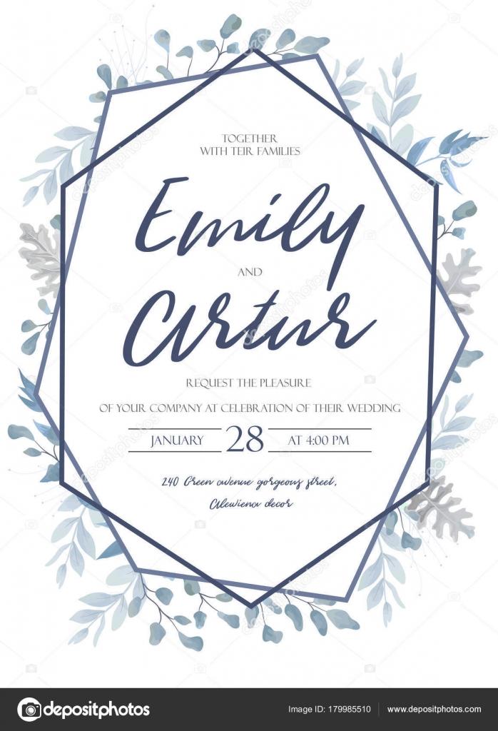 wedding invite invitation save the date card design with light