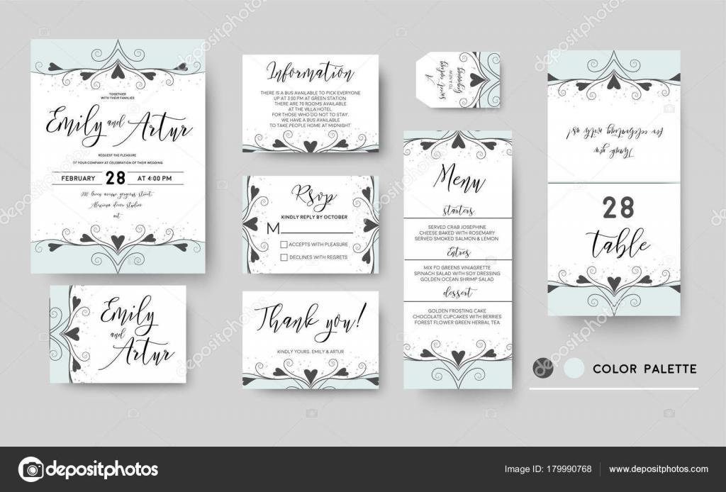 Wedding invite, invitation, save the date thank you rsvp menu card ...