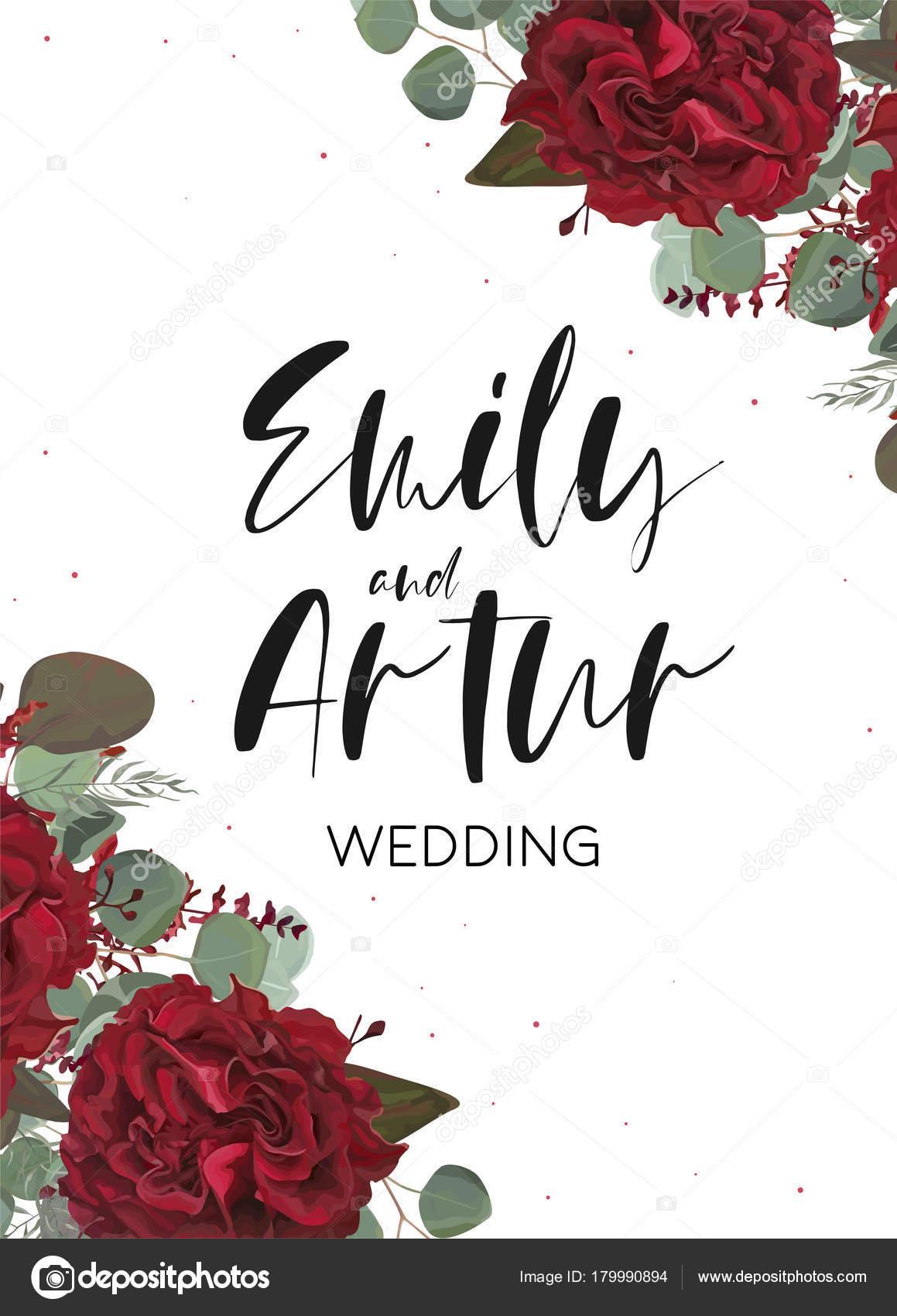 Convite De Casamento Convite Salvar O Cart 227 O De Data Com