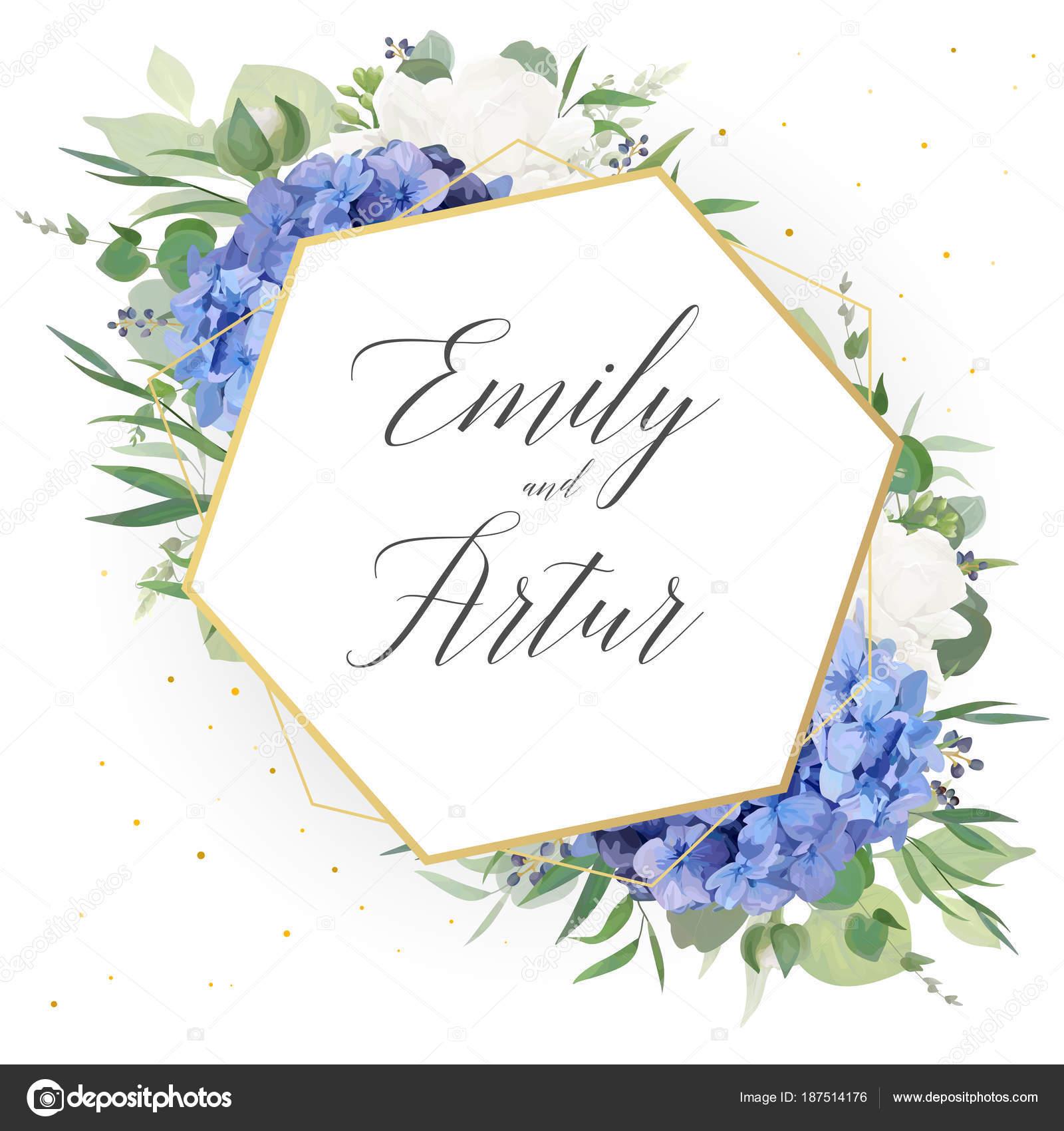 4056d6d1a12cf Invitación floral de la boda