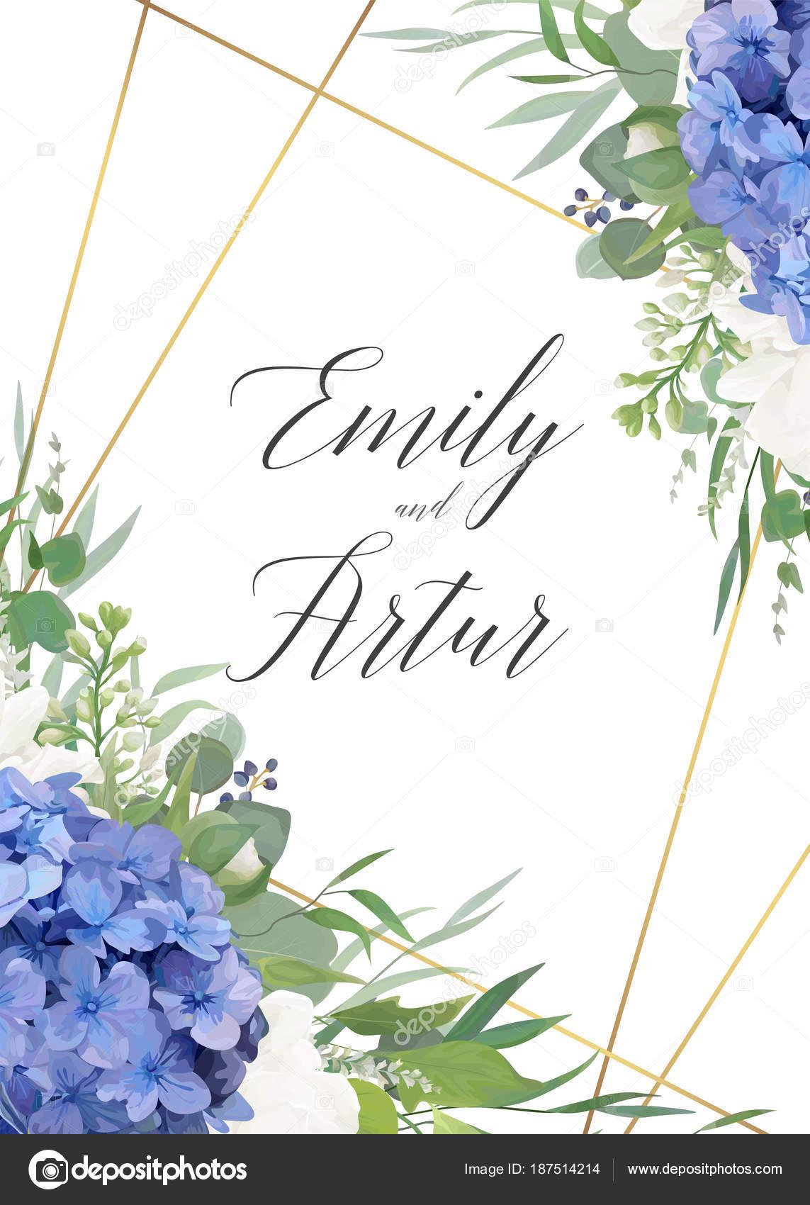 97364f59c8fc6 Invitaciones de boda blanca y azul