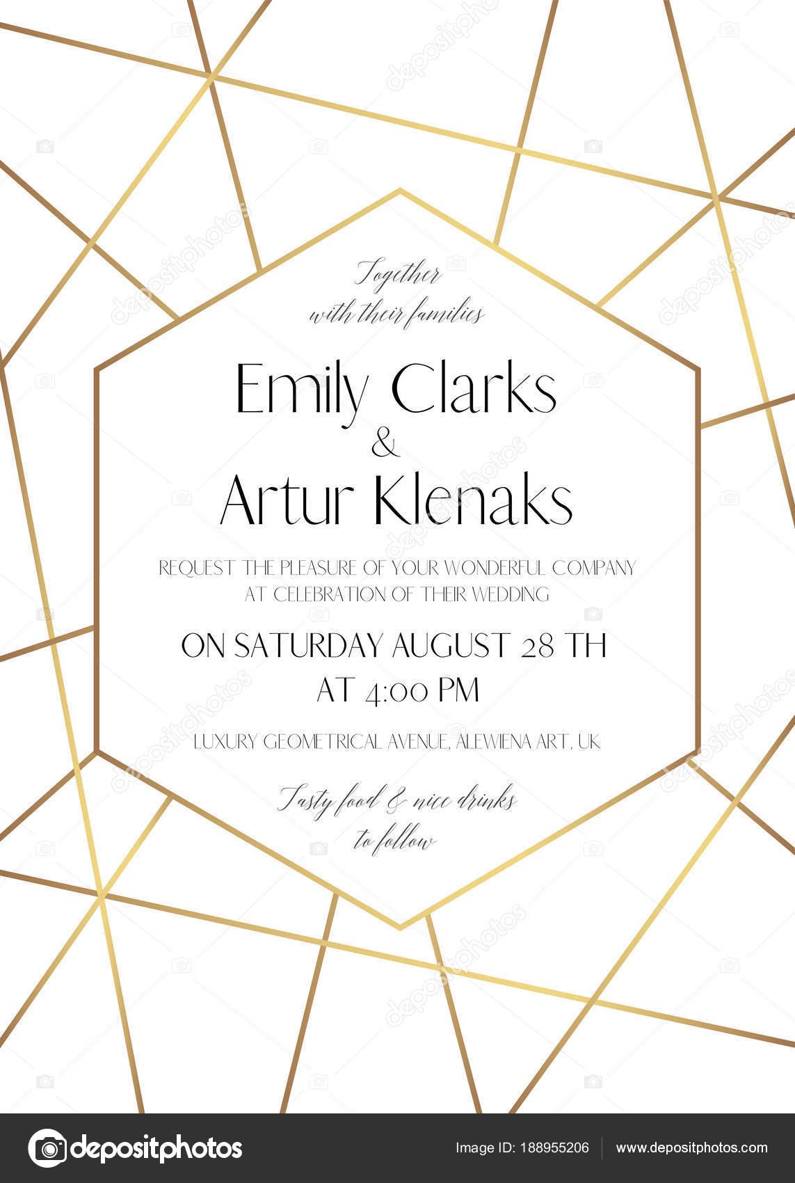 Hochzeitseinladung, speichern das Datum Karte filigranes Design mit ...