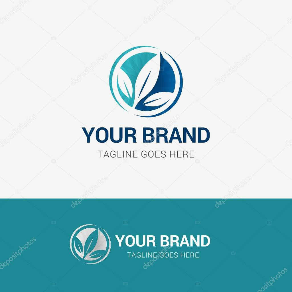 Organic Leaf Medical Logo