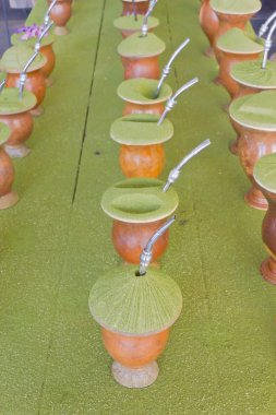 Chimarrao drink prepared in different ways