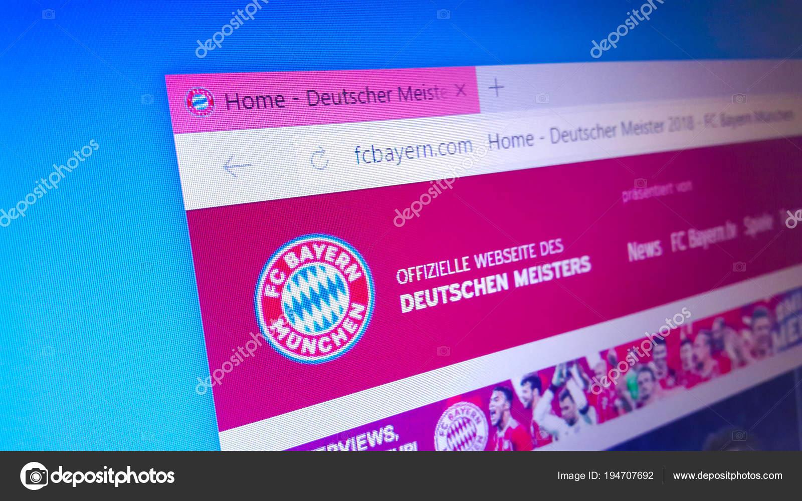 Сайты немецких футбольных клубов