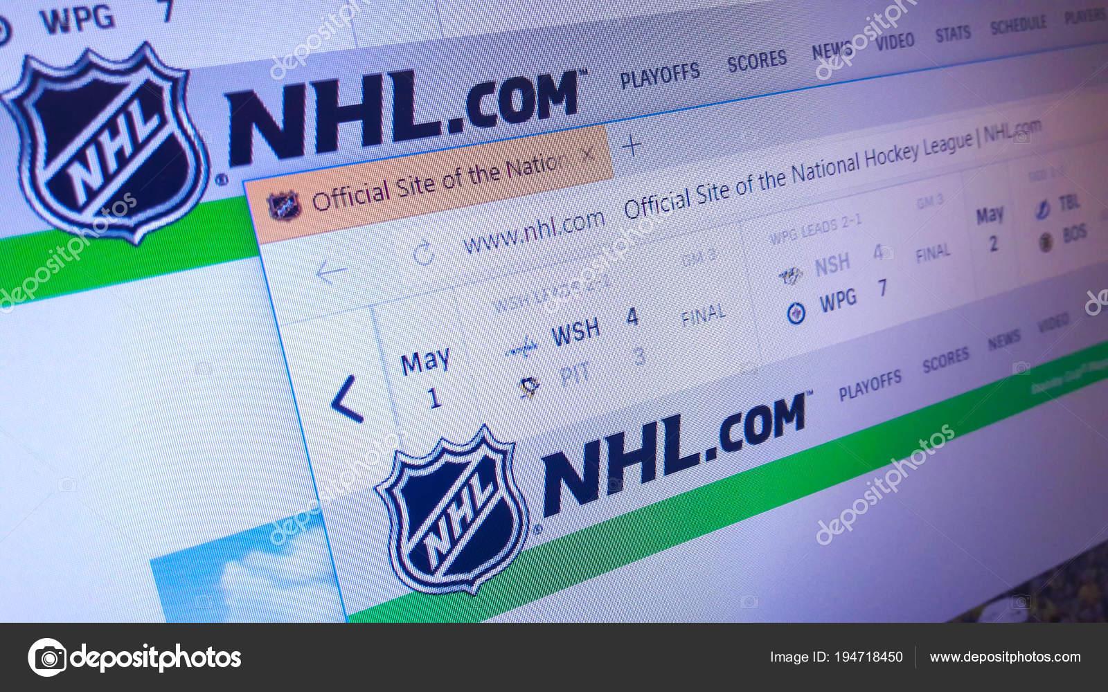 Minsk Belarus May 2018 Homepage Official Website National Hockey