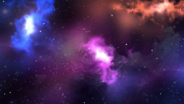 Ultra Hd Abstrata Nebulosa Espaço Criativo Galáxia Fundo