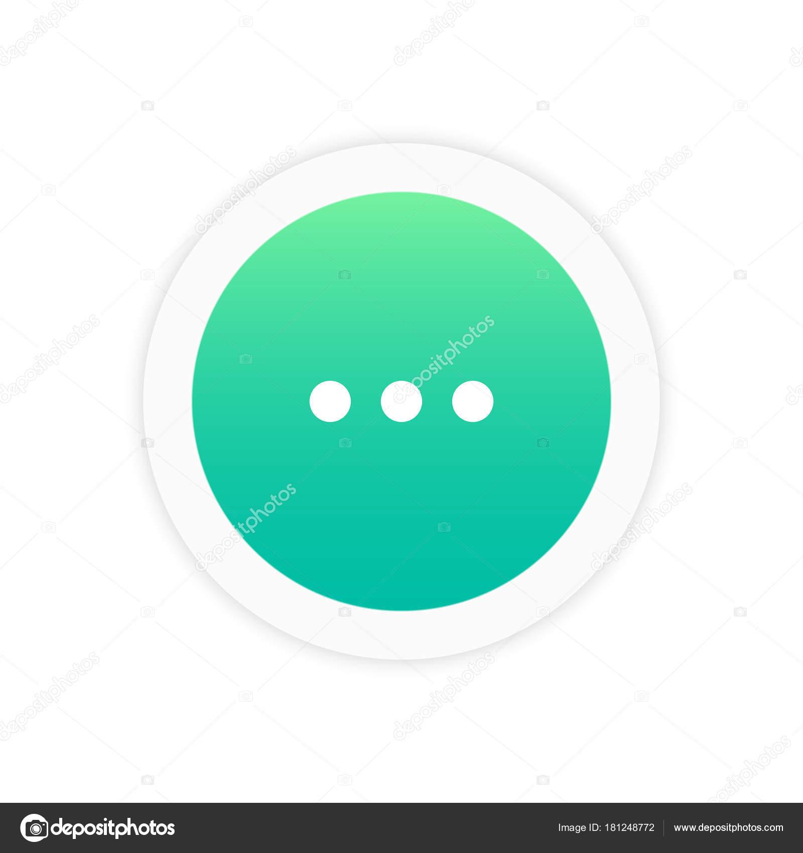 Three dots icon stock vector azvector 181248772 three dots icon sign symbol vector illustration icon vector by azvector biocorpaavc