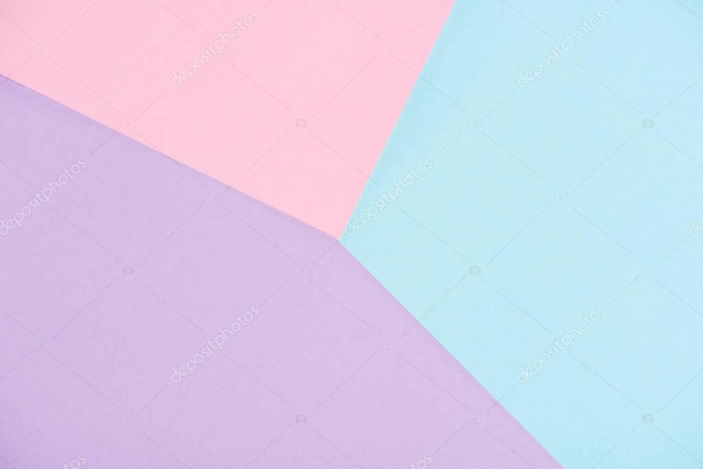 background made of pastel colors papers