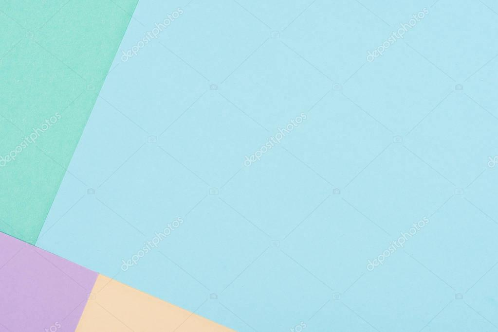 close-up shot of pastel colors papers of for background