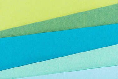 close-up shot of colorful paper layers for background