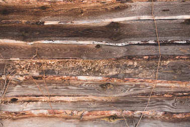 brown old wooden striped background